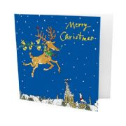 Pack of 10 Quentin Blake Christmas Cards - Reindeer